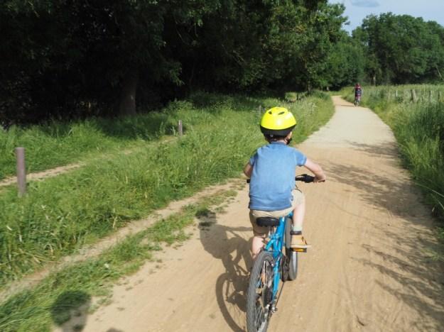 vélo francette en famille