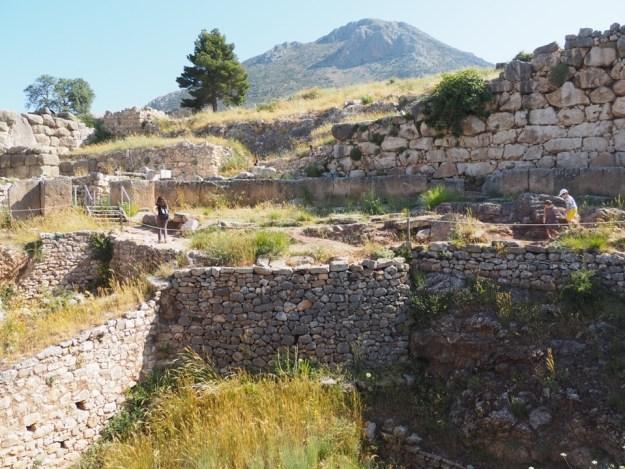 site archeologique grec
