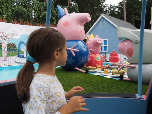 Peppa Pig world en famille