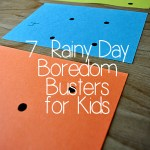 7 Rainy-Day Boredom Busters for Kids
