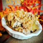 Maple Apple Dump Cake