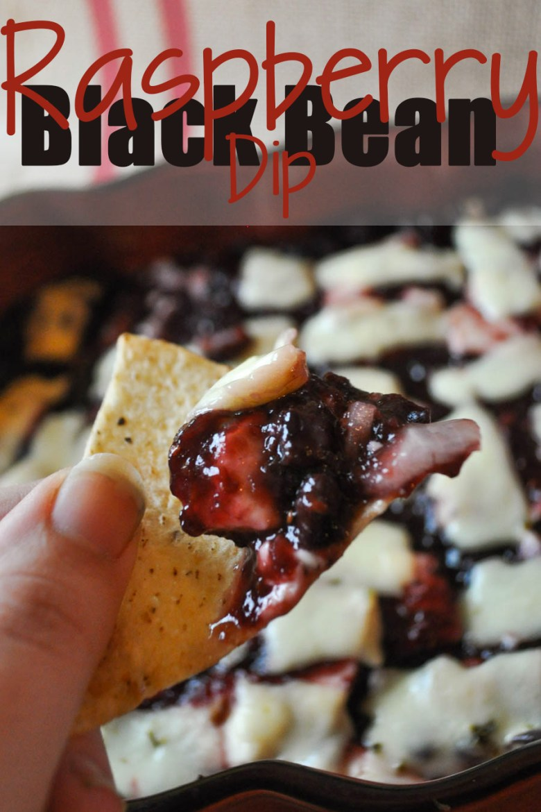 Looking for a fusion of spicy and sweet? Try this Raspberry Black Bean Dip! It's the perfect marriage of flavors between sweet and spicy! It's creamy and delicious-- perfect for Christmas, New Years, or the Super Bowl. It's quick to throw together, then bake! It's that easy!