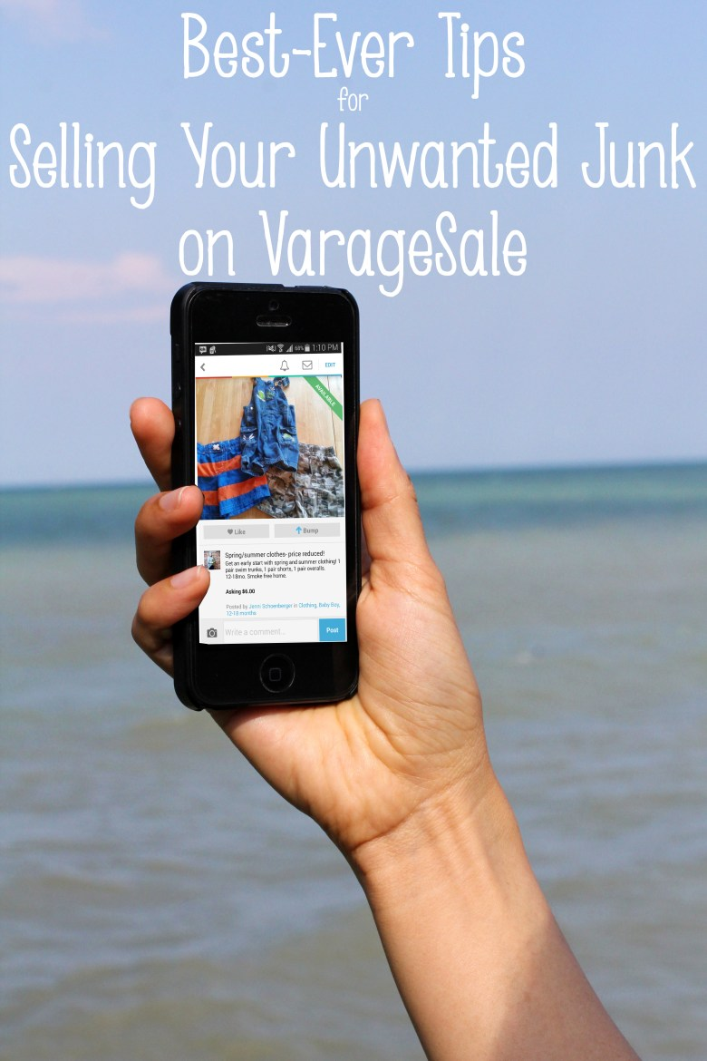 Thinking about selling your old stuff on VarageSale, but not sure how to go about it? Or trying to sell and not having much luck? Here are some top tips for selling on VarageSale, Facebook, and other sites around the web so you can get spring cleaning AND line your pockets a little!