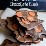 Salted Pepperoni Chocolate Bark