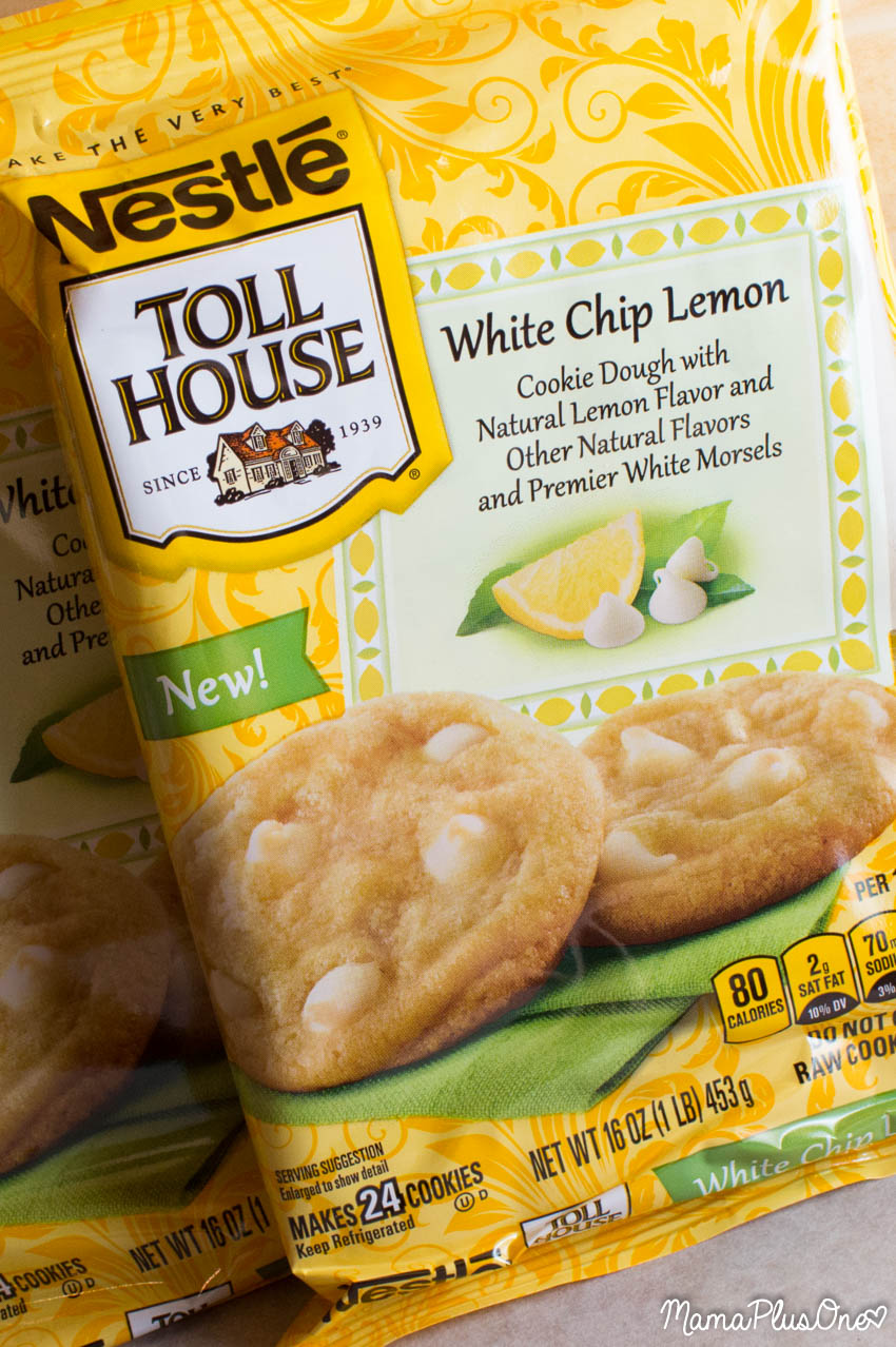 Must-Make Lemon White Chocolate Toll House Cookie Bars - Mama Plus One