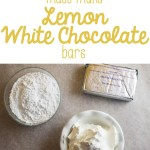 Must-Make Lemon White Chocolate Toll House Cookie Bars