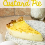 So-Easy Custard Pie