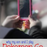 Why My Son and I Play PokemonGo