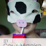 DIY No-Sew Cow Masks