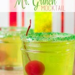 Mr. Grinch Mocktail (with Only 3 Ingredients!)