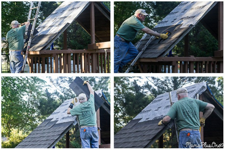 When you invest in a playset, you want it to last-- that's not an investment to take lightly. With the right care, you can make your backyard play set last decades, through your kids AND grandchildren! Here's how to help make your playset last with some TLC and GAF Shingles. #RoofedItMyself [ad]