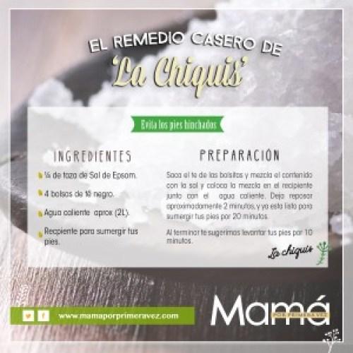 Mama_por_primera_vez_chiquis_pies_Hinchados_Sal_epsom_te_negro