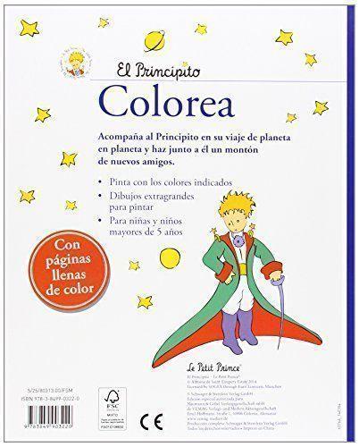 El Principito. Libro De Colorear - Mamá Psicóloga Infantil