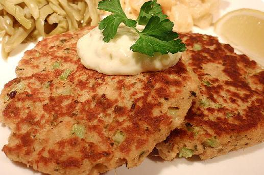 Salmon Patties Menu