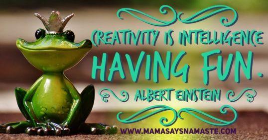 Creativityisintelligence