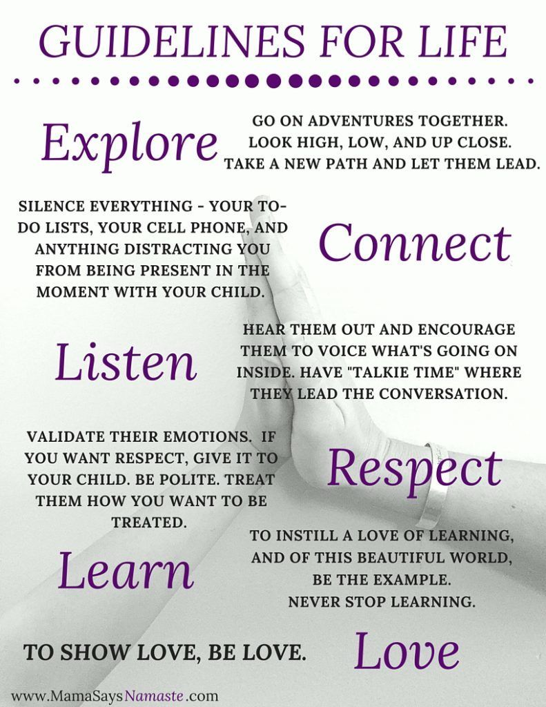 Guidelines for Life