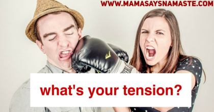 Let's explore tension and marriage in this week's blog.