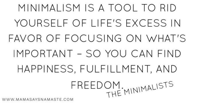 explanation of minimalism