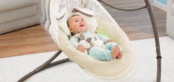 Plug In Baby Swing Bouncer