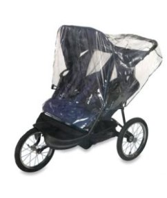 double rain cover for stroller