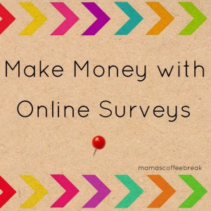 Make Money with online surveys