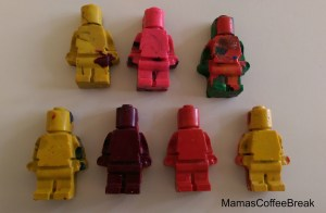 Recycle Crayons - Melting Crayons into shapes - Mama's Coffee Break