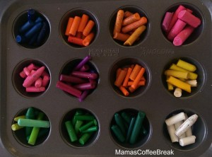 Recycle Crayons - How to Melt Crayons