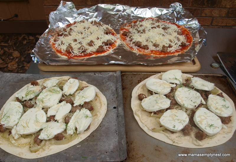 Whats Cookin Flat Bread Pizzas In A Smoker Mamas