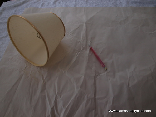 DIY Lampshade Cover 1