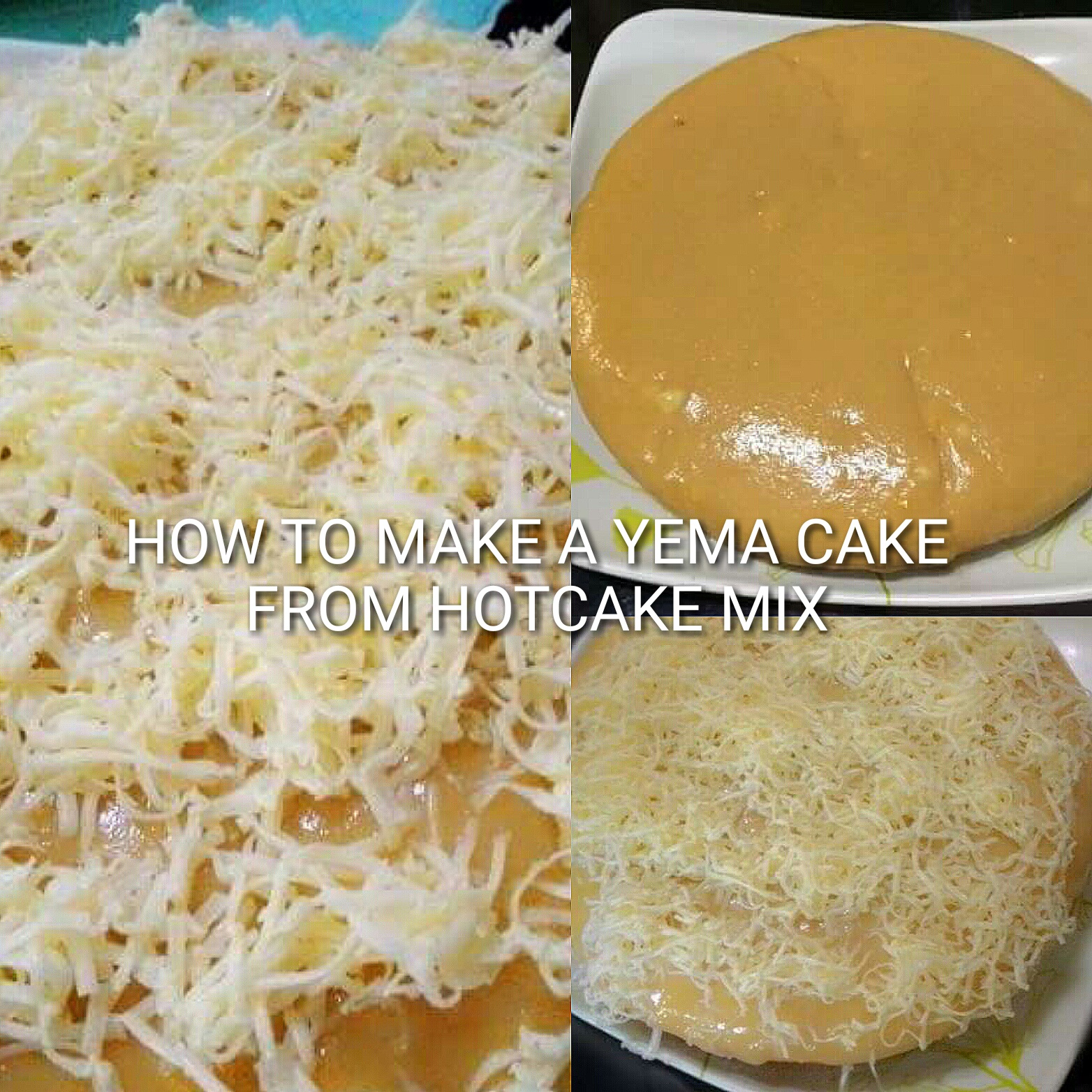 How to make a yema cake from maya hotcake mix ccuart Images