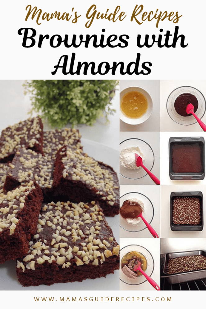 Brownies with Almonds