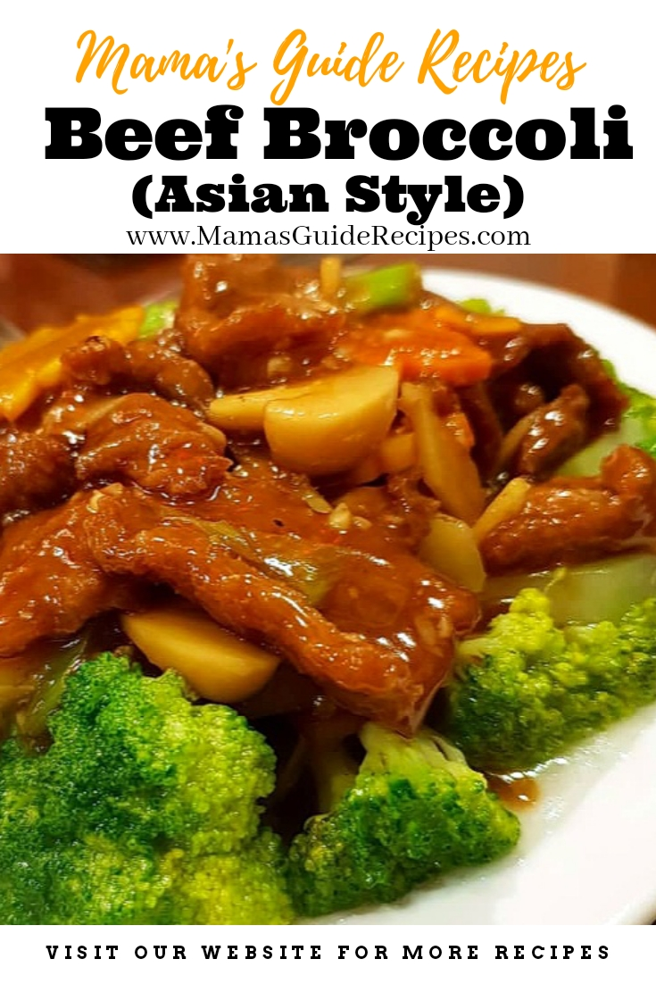 Beef Broccoli (Asian Style)