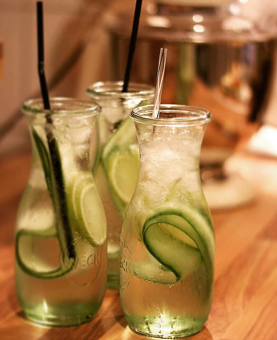 Refreshing Cucumber Lemonade Juice