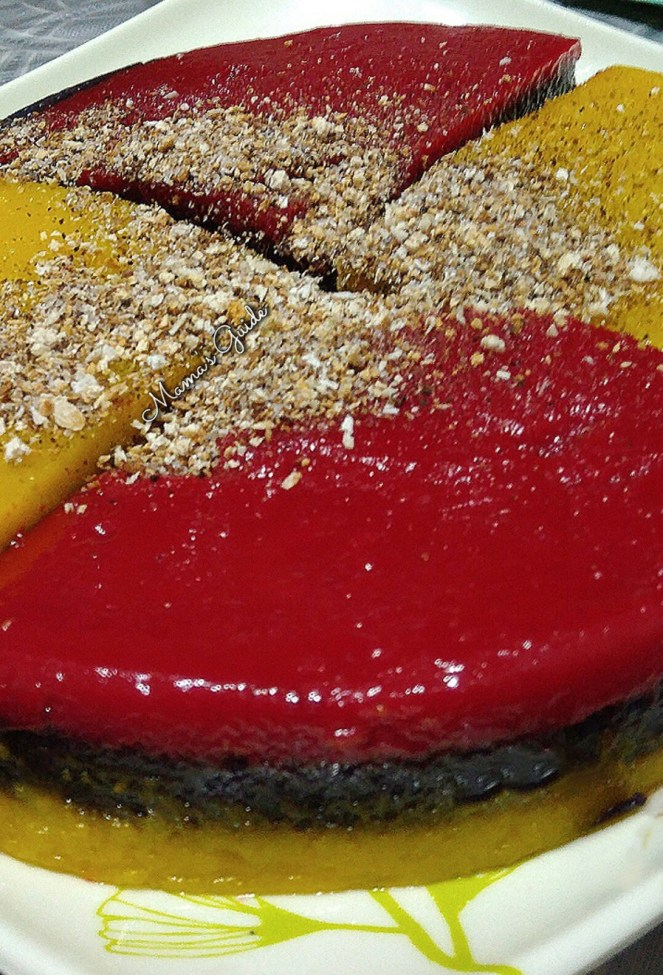Sapin-Sapin (Rainbow Layered Sticky Rice Cake)