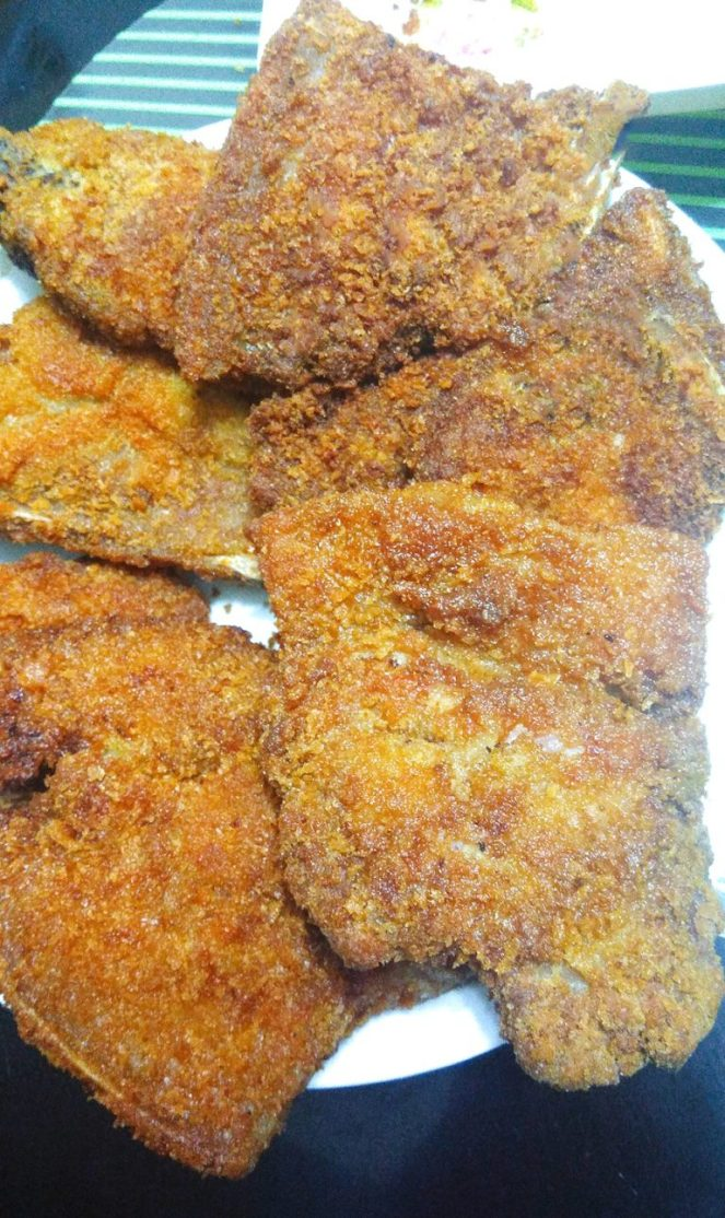 Crispy Fried Porkchop with a hint of Barbeque Powder