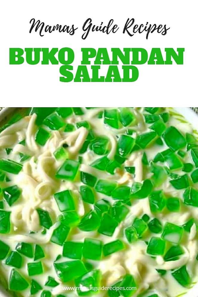 Buko Pandan Salad