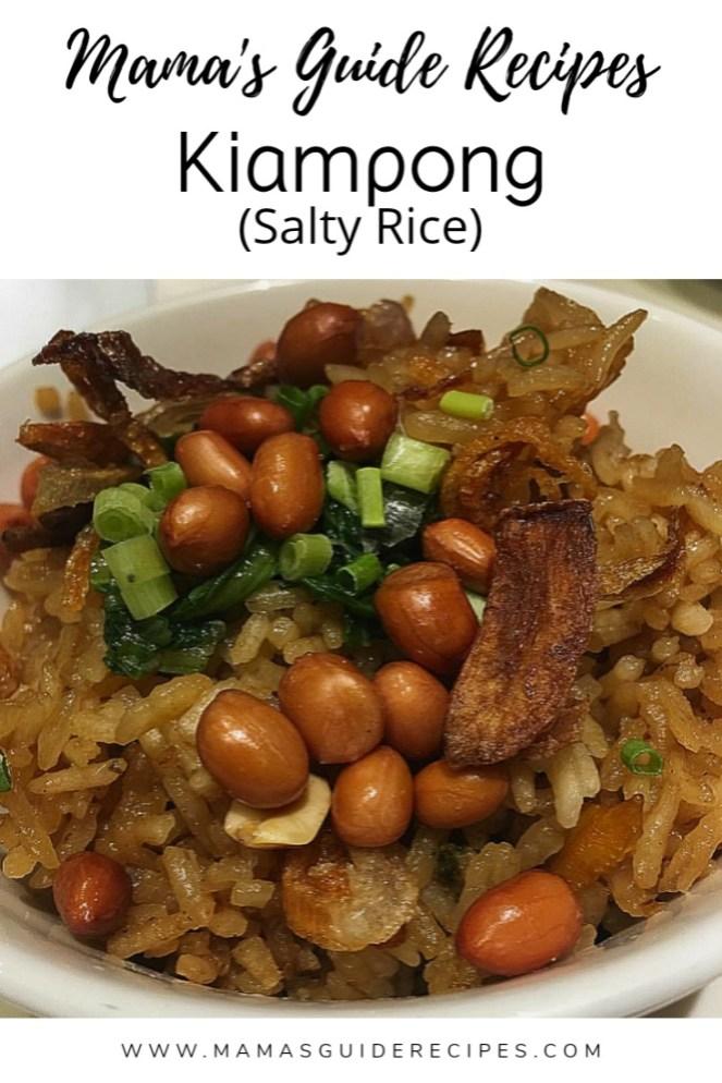 Kiampong (Salty Rice)