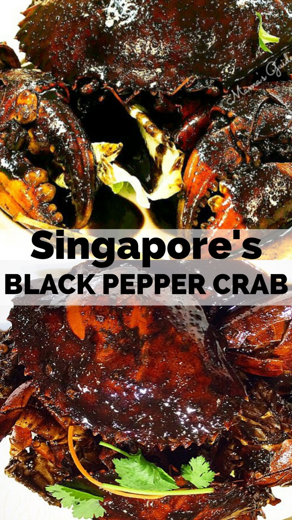 Singapore's Black Pepper Crab