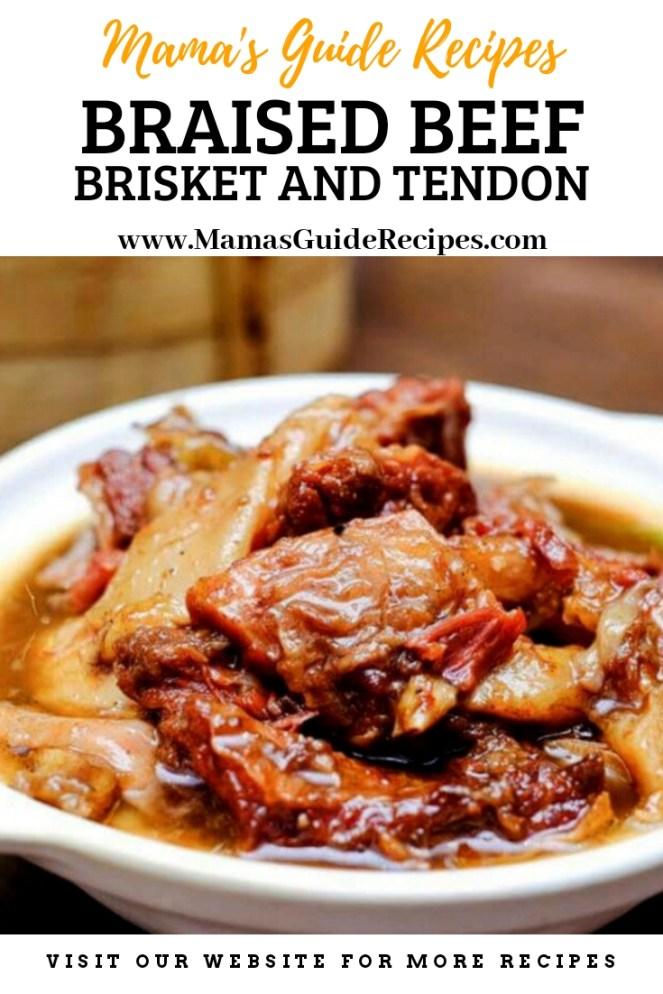 Braised Beef Brisket andTendon