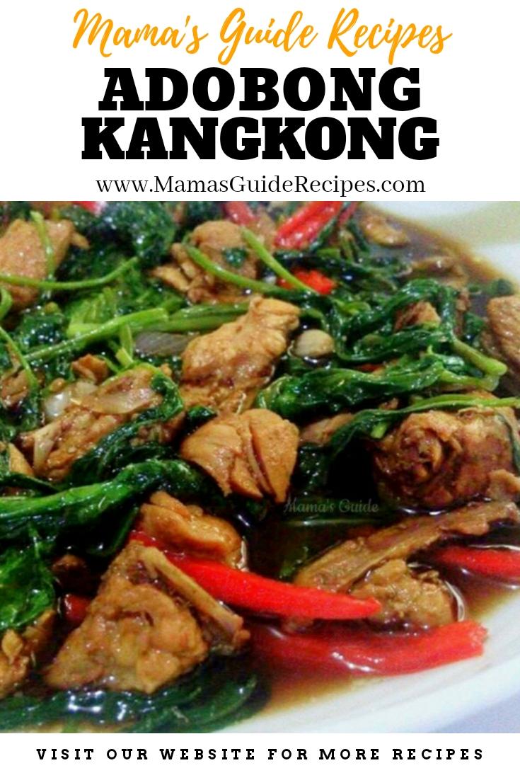 Adobong Kangkong Mama S Guide Recipes