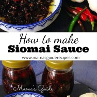 How to make Homemade Siomai Sauce