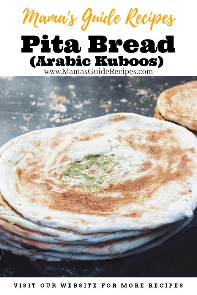 Pita Bread Recipe (Arabic Kuboos)