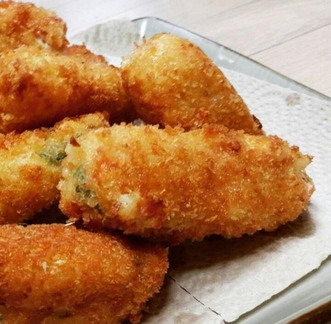 Spicy Chicken Croquettes
