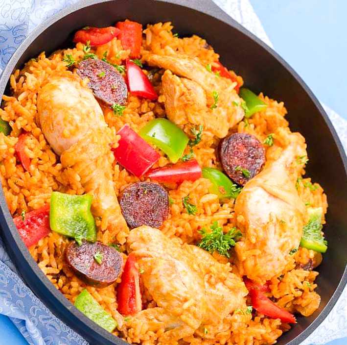 Chicken and Chorizo Jambalaya