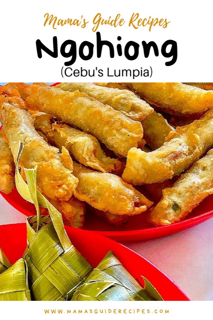 Ngohiong (Cebu's Lumpia)