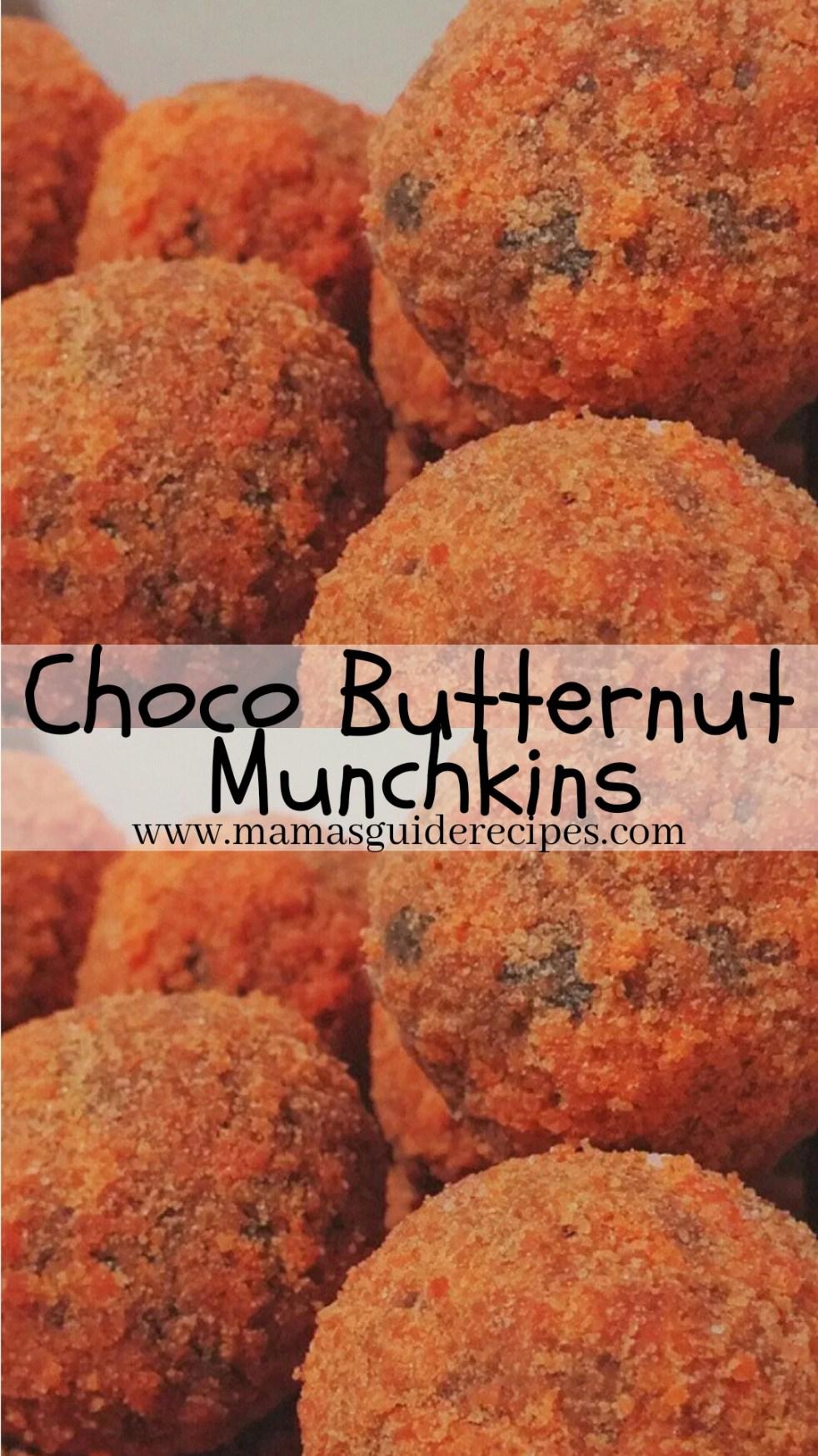 Choco Butternut Munchkins