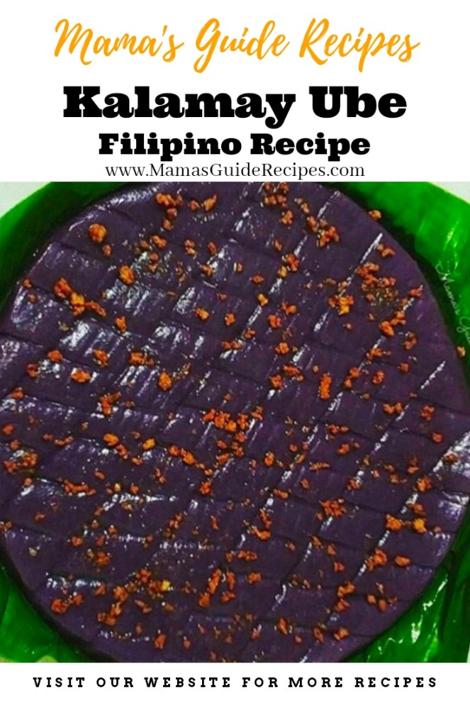 Kalamay Ube Recipe