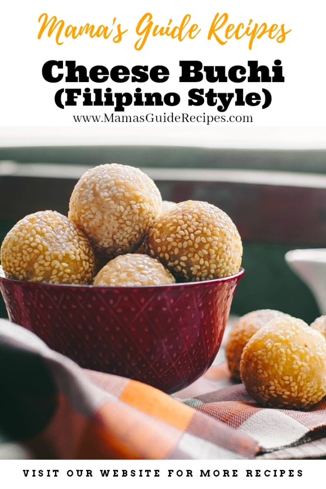Cheese Buchi Recipe