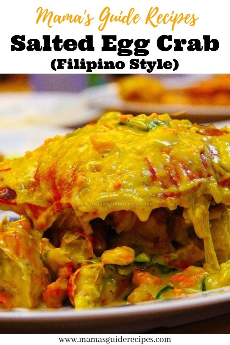 Salted Egg Crab (Filipino Style)