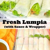 Fresh Lumpia (with Sauce and Wrapper)